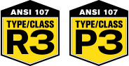 ANSI 107 - Type/Class R3 and P3
